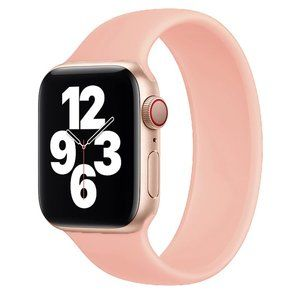 NEW Solo Loop Strap PINK For Apple Watch